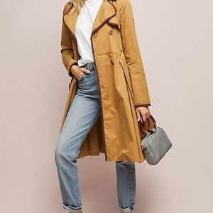 NWOT Anthropologie Marley Trench Coat by ett:twa